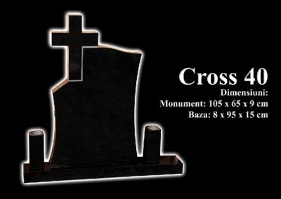 Monumente-granit-negru-cross-40